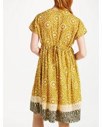 John Lewis - Stella Forest Mosaic Short Dress - Lyst