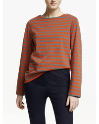 Seasalt - Sailor Organic Cotton Jersey Top - Lyst