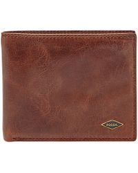 Fossil - Ryan Leather Bifold Wallet - Lyst