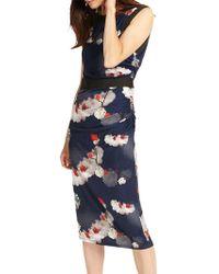Phase Eight - Sakura Slinky Jersey Midi Dress - Lyst
