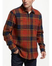 John Lewis - Brushed Check Shirt - Lyst