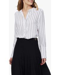 Brora - Graphic Stripe Tunic Dress - Lyst