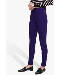 Phase Eight - Amina Side Zip Jeggings - Lyst