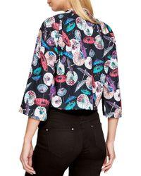 John Lewis - Damsel In A Dress Umbrella Print Kimono Jacket - Lyst