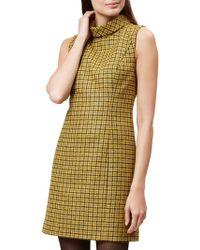 Hobbs - Dalby Wool Dress - Lyst
