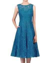 Jolie Moi - Lace Bonded Prom Dress - Lyst