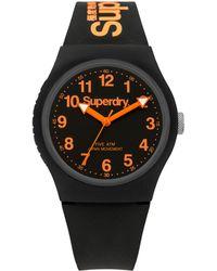 Superdry - Unisex Urban Silicone Strap Watch - Lyst