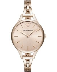 Emporio Armani - Women's Bracelet Strap Watch - Lyst
