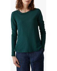 Toast - Garment Dye Long Sleeve Top - Lyst