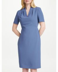 John Lewis - Lily Pleat Fitted Dress - Lyst