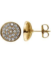 Dyrberg/Kern - Maira Crystal Stud Earrings - Lyst