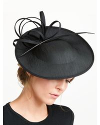 e5f8f658975 John Lewis Anita Pillbox Feather And Loop Occasion Hat in Red - Lyst