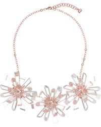 Ted Baker - Sandrina Geode Burst Necklace - Lyst