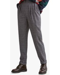Toast - Prince Of Wales Check Trousers - Lyst