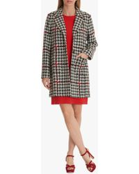 Betty Barclay - Houndstooth Tailored Coat - Lyst