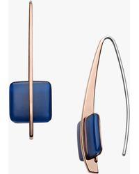 Skagen - Seaglass Drop Hook Earrings - Lyst