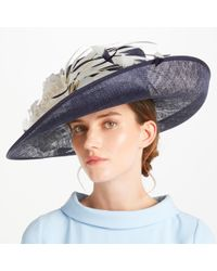 a63b03c2 John Lewis - Kelly Side Upturn Flower Detail Occasion Hat - Lyst