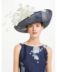 John Lewis - Cindy Large Upturn Flower Detail Occasion Hat - Lyst