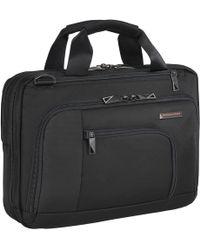 """Briggs & Riley - Verb Contact 13"""" Laptop Briefcase - Lyst"""