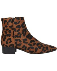 Whistles - Berwick Pointed Toe Ankle Boots - Lyst