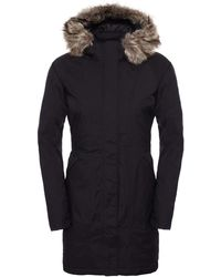 The North Face - Faux Fur Trim Arctic Waterproof Insulated Women's Parka - Lyst