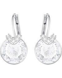 Swarovski - Bella V Pierced Earrings - Lyst
