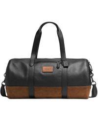 COACH - Metropolitan Leather Gym Bag - Lyst