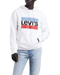 Levi's - Graphic Print Hoodie - Lyst