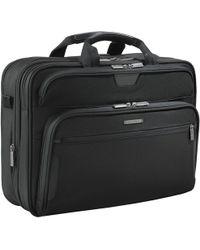 "Briggs & Riley   Kb307x-4 Business 17"" Laptop Briefcase   Lyst"