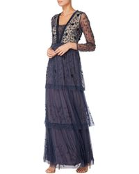 Raishma - Embellished Tiered Gown - Lyst
