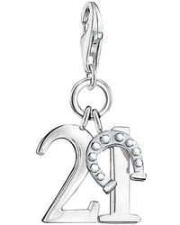Thomas Sabo - Charm Club Lucky Number 21 Charm - Lyst