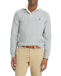 Ralph Lauren - Polo Long Sleeve Rugby Shirt - Lyst