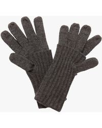 Karen Millen - Vanna Fold Gloves - Lyst