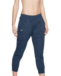 Under Armour - Balance Mesh Loose Crop Trousers - Lyst