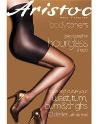 Aristoc - 10 Denier Hourglass Tights - Lyst