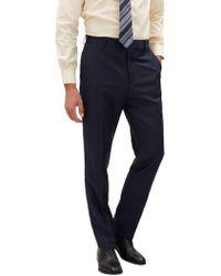 Jaeger - Tonal Pinstripe Regular Fit Suit Trousers - Lyst