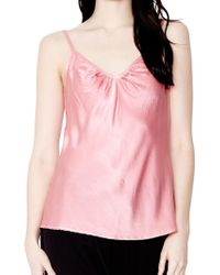 Ghost - Effie Satin Cami Top - Lyst