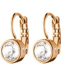 Dyrberg/Kern - Dyrberg/kern Swarovski Crystal Hook Earrings - Lyst