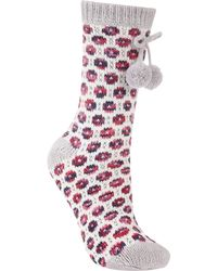 John Lewis - Circle Knit Patterned Novelty Ankle Socks - Lyst
