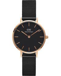Daniel Wellington - Unisex Mesh Bracelet Strap Watch - Lyst