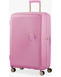 American Tourister - Soundbox 4-spinner Wheel 77cm Large Suitcase - Lyst