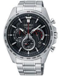Seiko - Men's Conceptual Chronograph Date Bracelet Strap Watch - Lyst