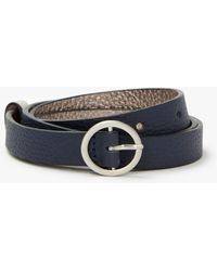 Boden - Classic Skinny Leather Belt - Lyst