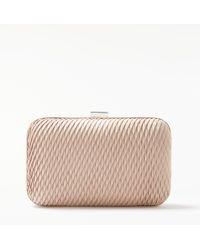 John Lewis - Stella Geo Box Clutch Bag - Lyst