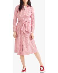 J.Crew - Maribou Shirt Dress - Lyst