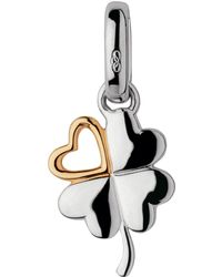 Links of London - Sterling Silver Lucky In Love Charm - Lyst