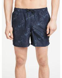 J.Lindeberg - Banks Print Swim Shorts - Lyst