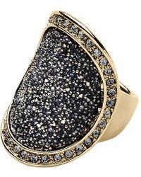 Dyrberg/Kern - Dryberg Kern Carly Swarovski Crystal Ring - Lyst