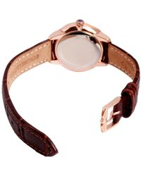 John Lewis - Rotary Ls02919/03 Women's Elise Leather Strap Watch - Lyst
