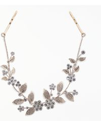 John Lewis - Cubic Zirconia Floral Bridal Hair Vine - Lyst